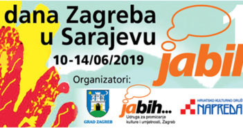 Najava: Pet dana Zagreba u Sarajevu 2019.