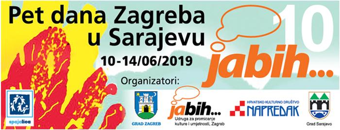 Najavni spot festivala Ja BiH 5 dana Zagreba u Sarajevu 2019.