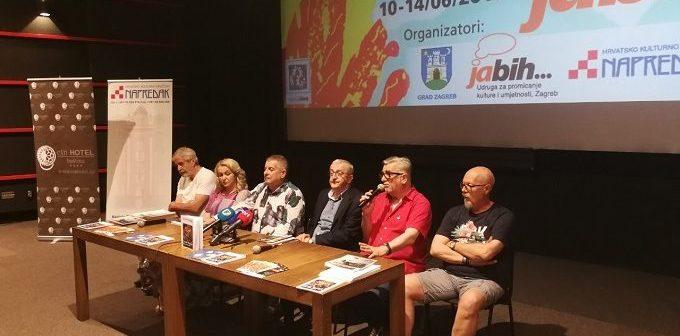 Press konferencija i mediji o Ja BiH 5 dana Zagreba u Sarajevu