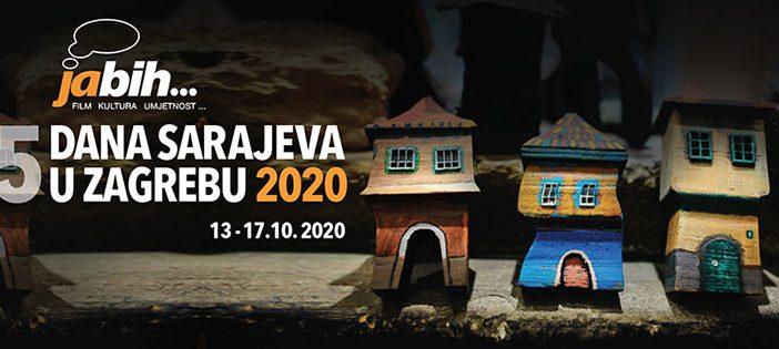 "Počinje festival ""Ja BiH 5 dana Sarajeva u Zagrebu 2020."""